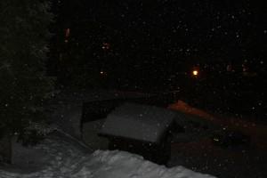 Les Saisies sous la neige