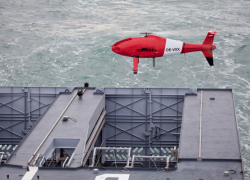 Camcopter S-100 – Convincing First Flights Onboard New French Navy OPV L'Adroit