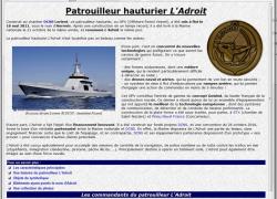 L'Adroit sur Net-Marine