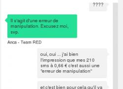 J'ai vu rouge  … mes mésaventures avec Red By SFR