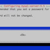 MySQL on Debian (Cheat sheet for my students)