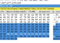 Wiresharking MariaDB traffic
