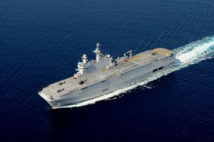 Le BPC Mistral - © Marine nationale