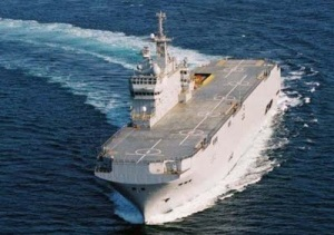 Mistral assault landing ship