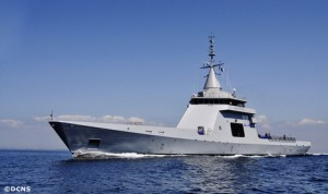 Gowind offshore patrol boat L'Adroit during sea trials in July 2011 (Photo: DCNS)