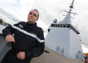 """Loïc Guyot commandant de l' OPV Gowind """"Adroit"""""""