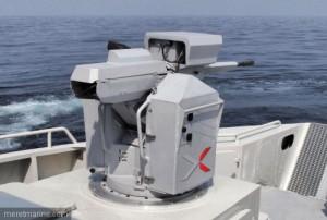 Le canon télé-opéré Narwhal - crédits : NEXTER