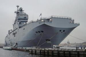 Helicopter-carrier Mistral