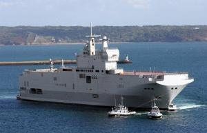 Mistral-class assault landing ship