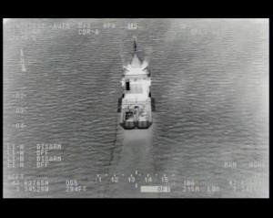Le S100 en approche (infrarouge)