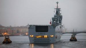 Le Mistral à Saint Petersbourg