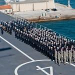 Officiers-Elèves avant appreillage