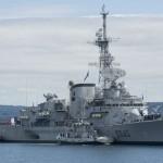 Retour de mission de la fregate Georges Leygues le 03-08-2011