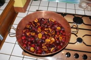 Confiture de prunes noires ... du jardin siouplait !