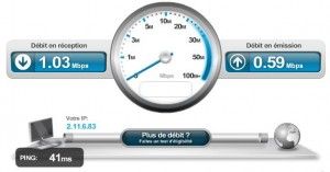 Capture Débit ADSL