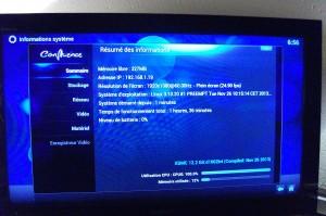 Raspberry Pi XBMC - Système