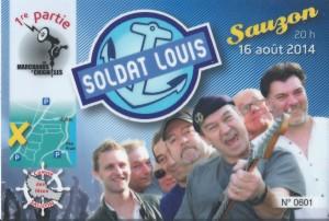 Billet Soldat Louis