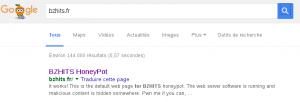 bzhits dans Google