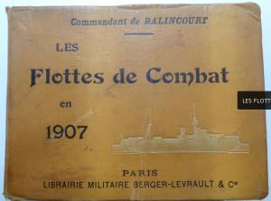 Les Flottes de Combat en 1907